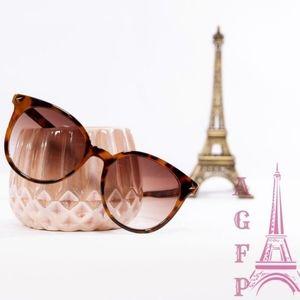💖 2/$25 SALE Leopard round Frame Sunglasses